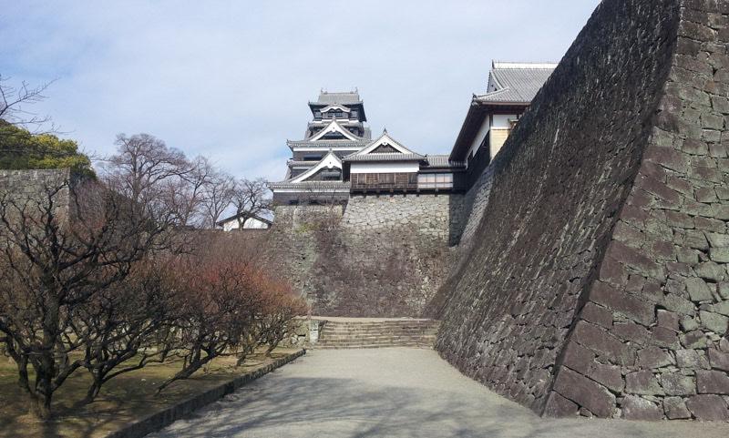 Kumamoto castle wall