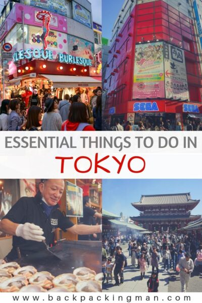 BEST THINGS TO DO IN TOKYO JAPAN