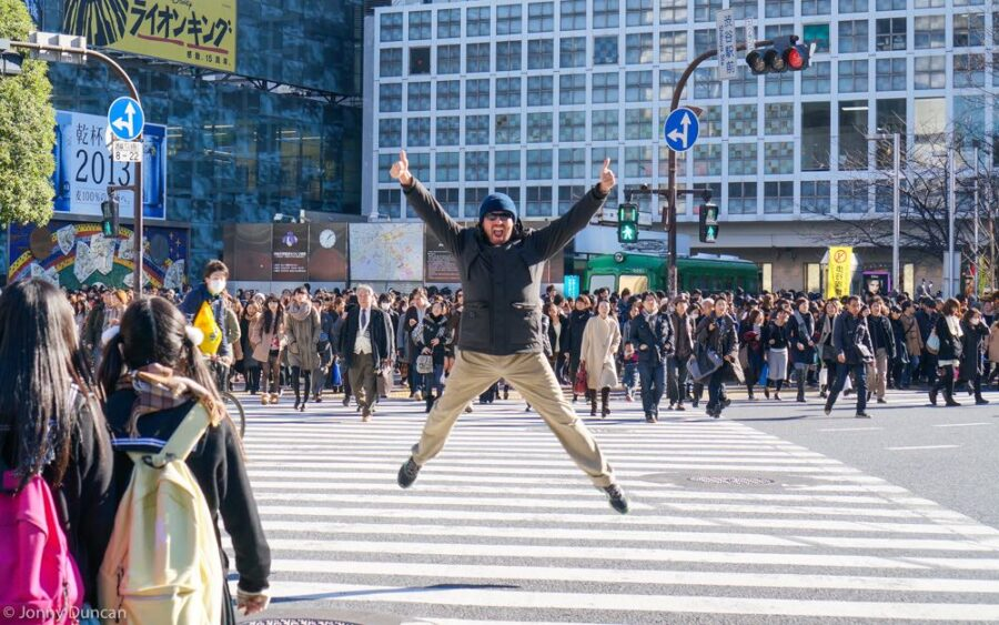 backpacking in Japan budget travel