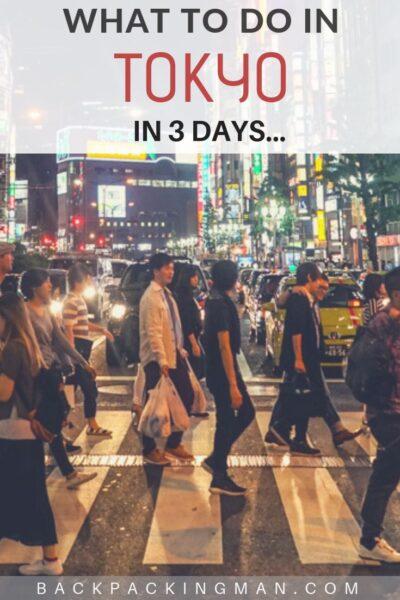 tokyo in 3 days