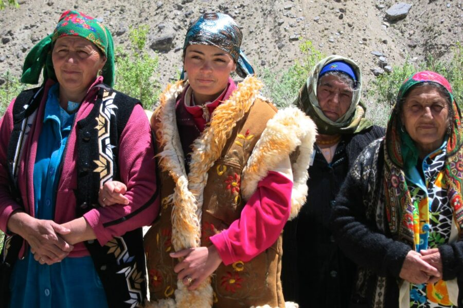 Women in Wakhan Valley