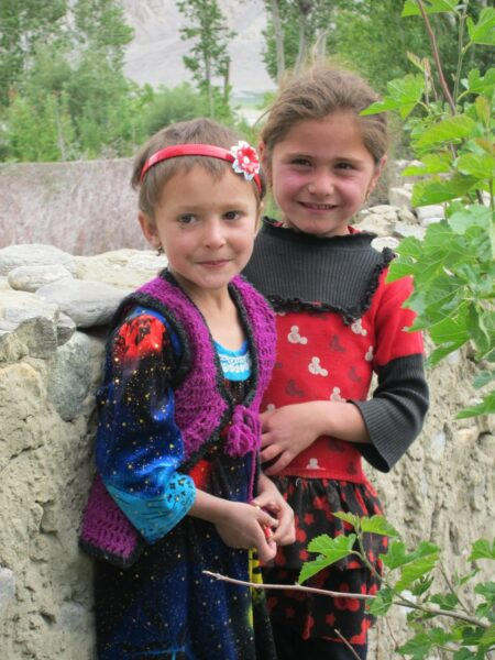 Children in Wakhan Valley