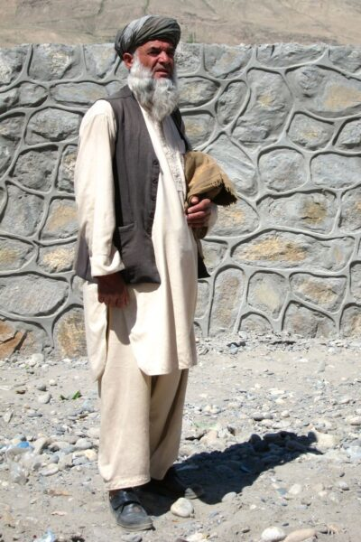 Afghan man in Wakhan Valley