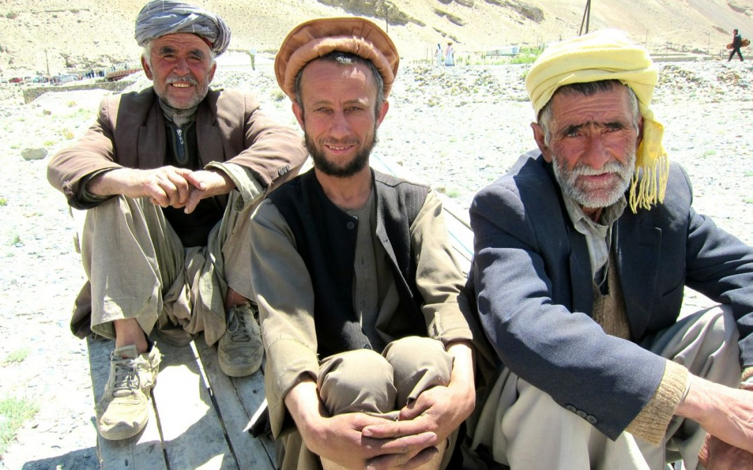 Afghans in Wakhan Valley