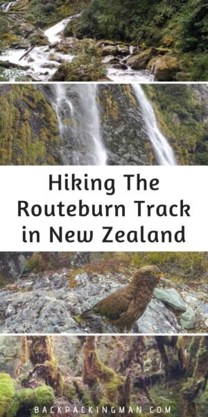 routeburn track New Zealand hiking
