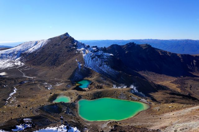 Emerald lakes Tongariro