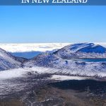 Tongariro Crossing Trek In New Zealand - Trekking Through Mordor