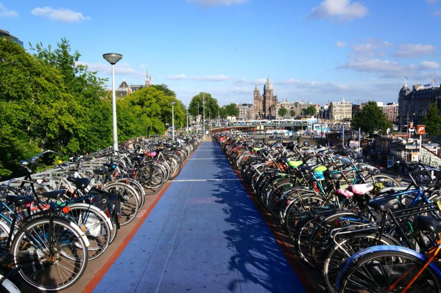 Amsterdam cycling routes