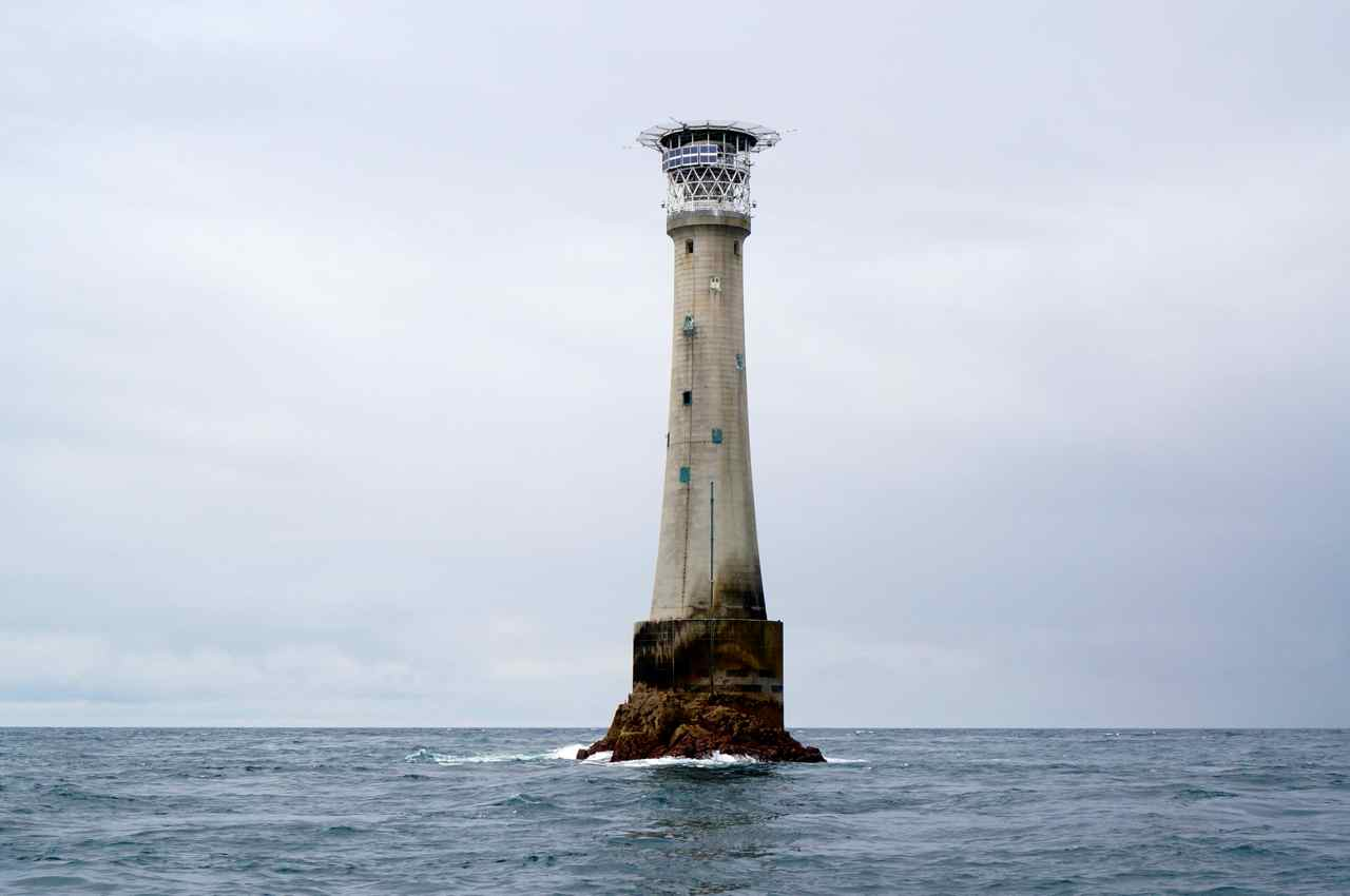 Bishop lighthouse Isles of Scilly