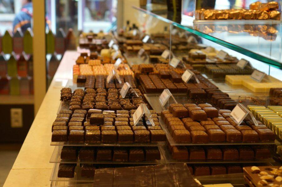 Belgium chocolate.