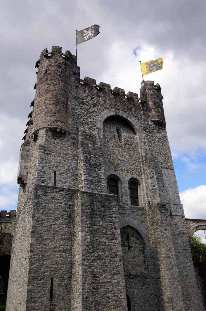 Gent castle.