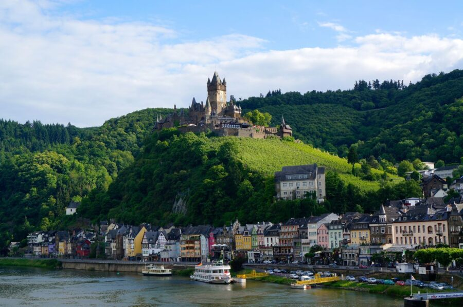 Cochem in Germany.
