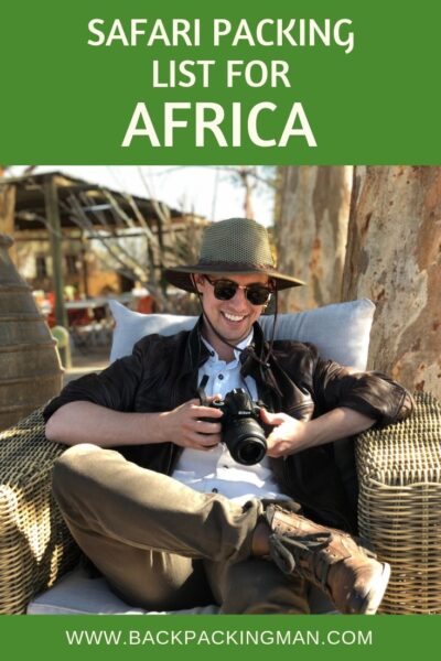 safari packing list east Africa