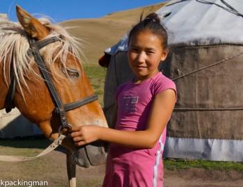 Horse Trekking to Song Kul Lake in Kyrgyzstan