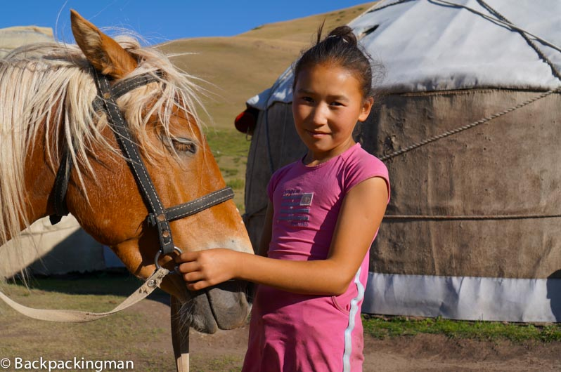 Horse Trekking to Song Kul Lake in Kyrgyzstan