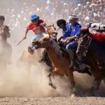 Kok Boru – Enter The Headless Goat Hippodrome In Bishkek!