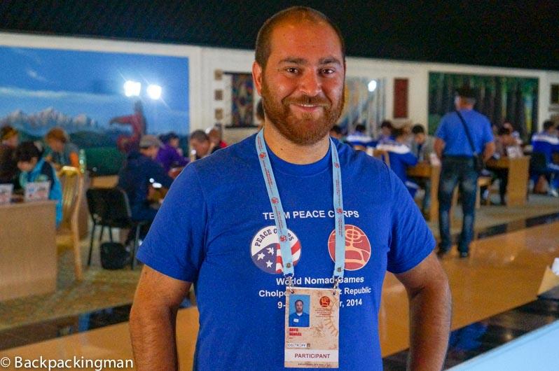 Peace Corps volunteer David Ramras