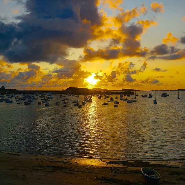 Isles of Scilly sunset.