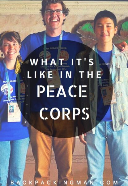 what its like in the peace corps