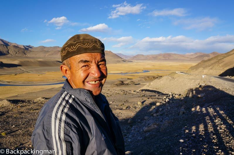 Man in Tajikistan
