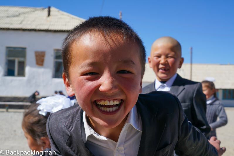 Children in Tajikistan