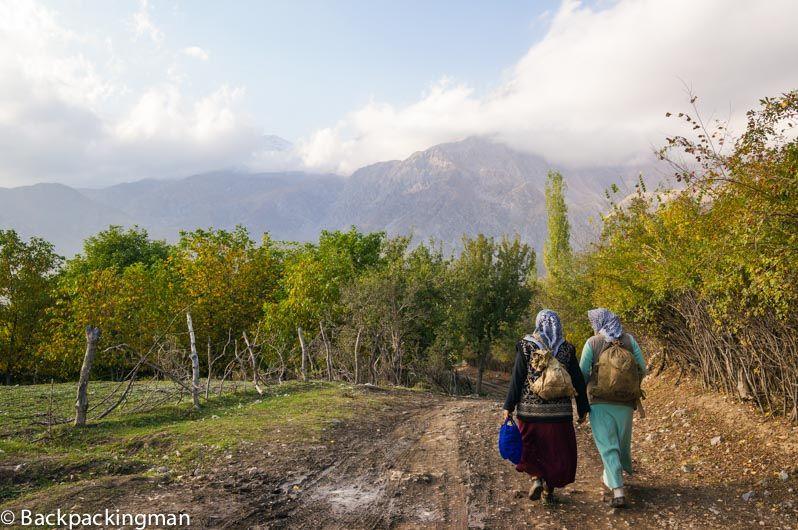 Women in Arslanbob