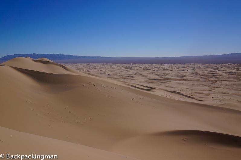 The Gobi Desert.