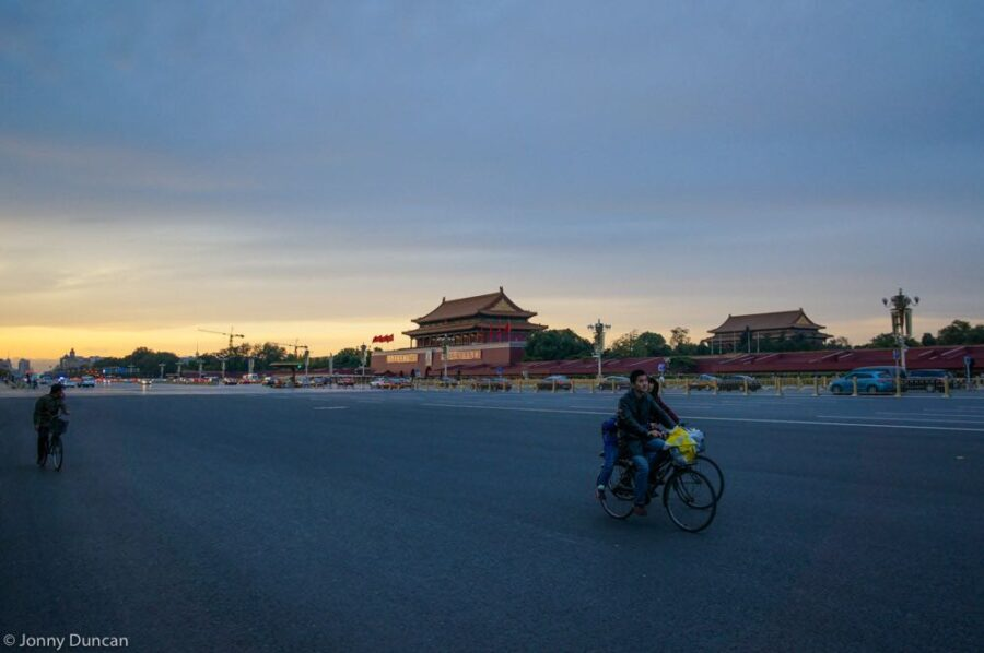 cycling in Beijing