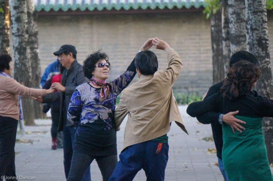 Beijing park dancing