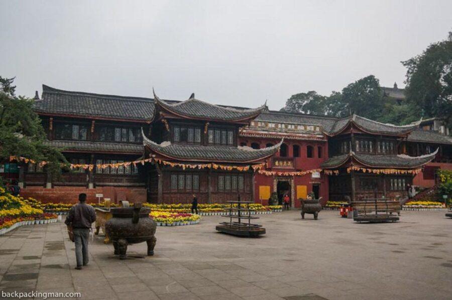 wuyou monastery temple leshan