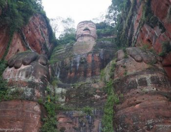 Leshan Giant Buddha in China (Visiting The Largest Stone Buddha)