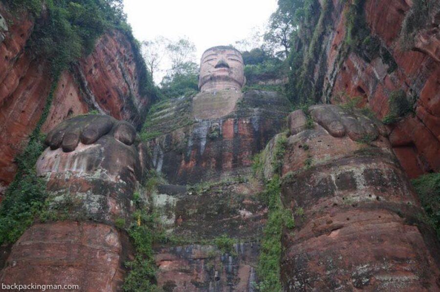 Leshan Giant Buddha in China (Visiting The Largest Stone Buddha)