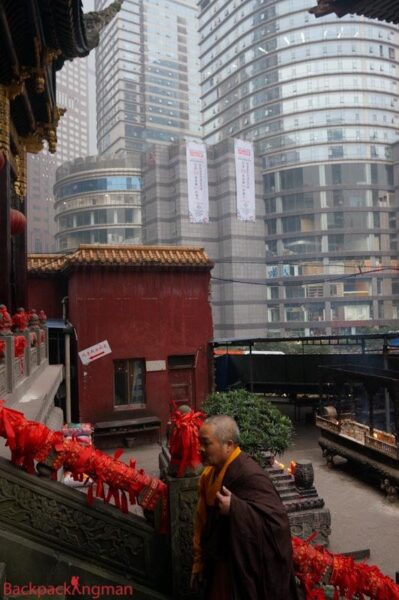 Arhat Temple in Chongqing.