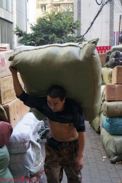 Porter in Chongqing.