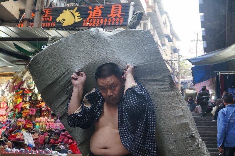 Porter in Chongqing