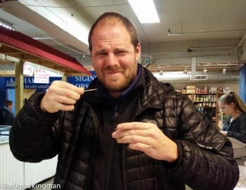Eating Hakarl Rotten Shark In Iceland - Travel Iceland