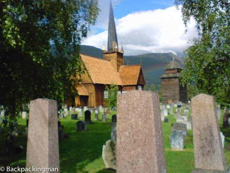 Wooden Norwegian traditional church