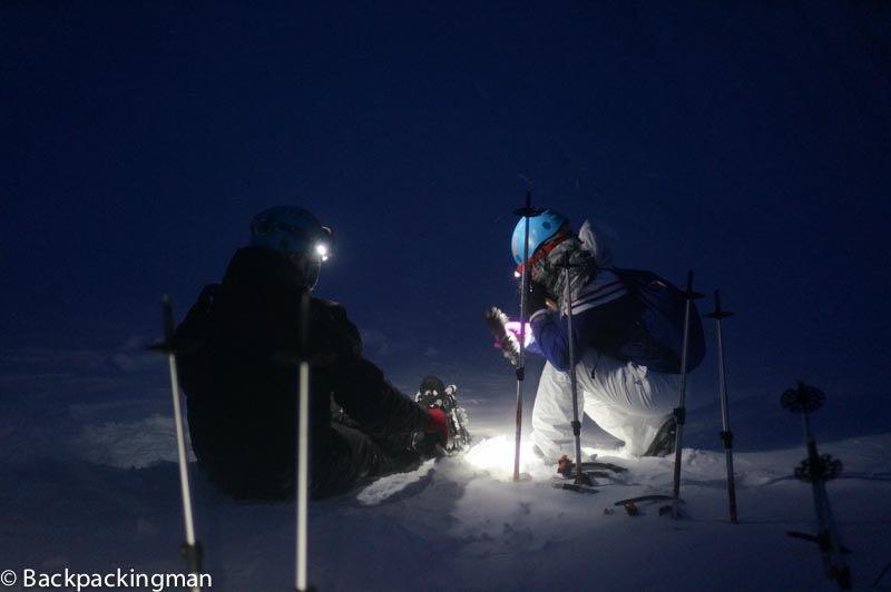 Snowshoeing in Svalbard