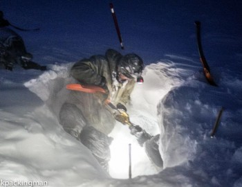 Ice Caving Svalbard In Extreme Winter Conditions