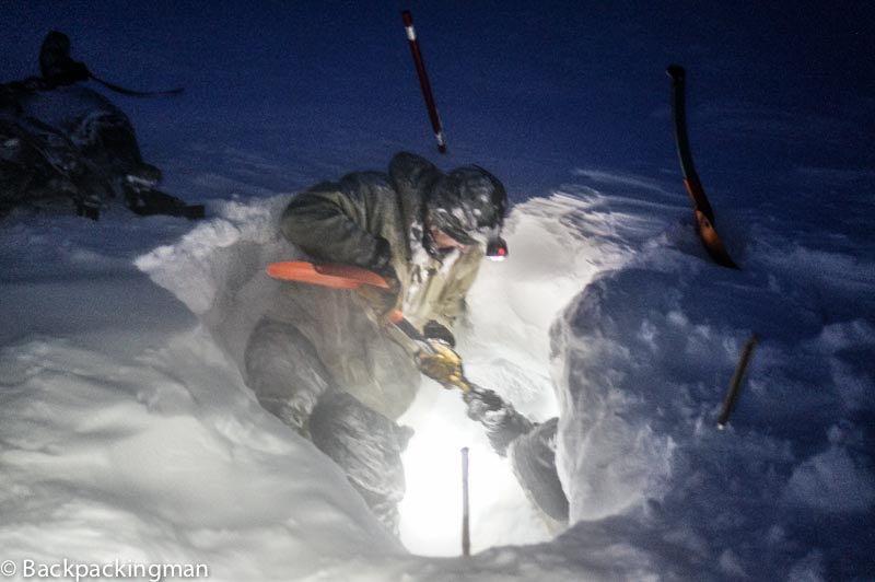 Ice caving in Longyearbyen