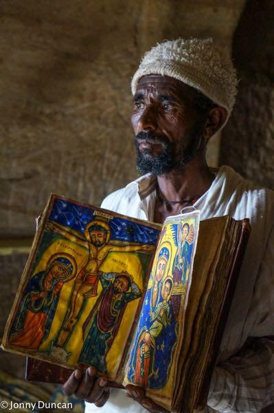 Priest in Tigray