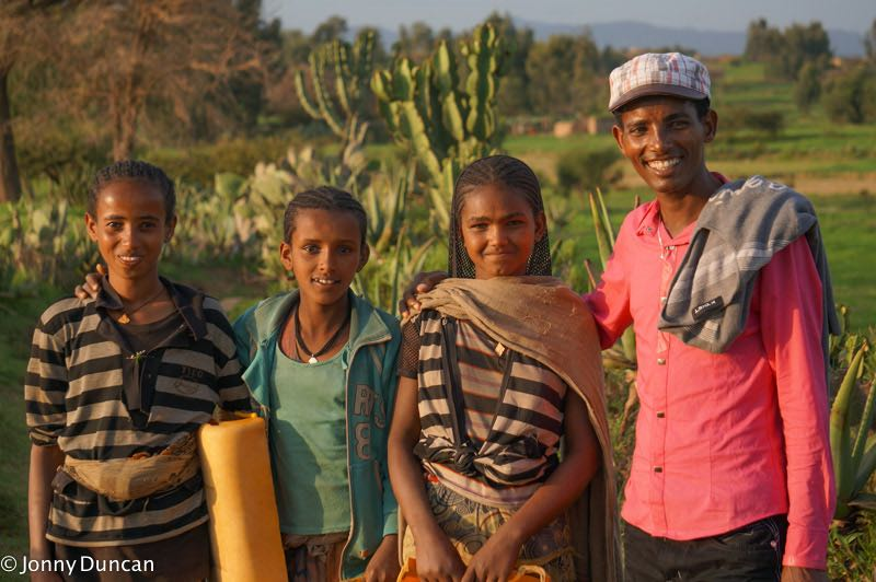 People of Tigray in Ethiopia.