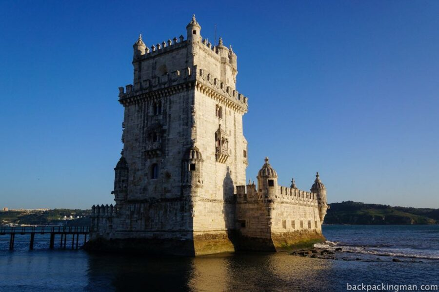 Defence tower in Lisbon