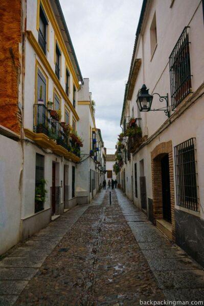 Cordoba old streets