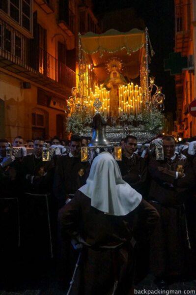 Semana Santa in Malaga, Spain.