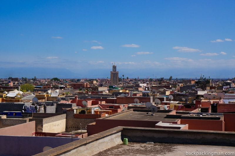 View across Marrakech.
