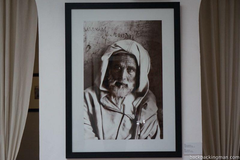 Portrait of marrakech man.
