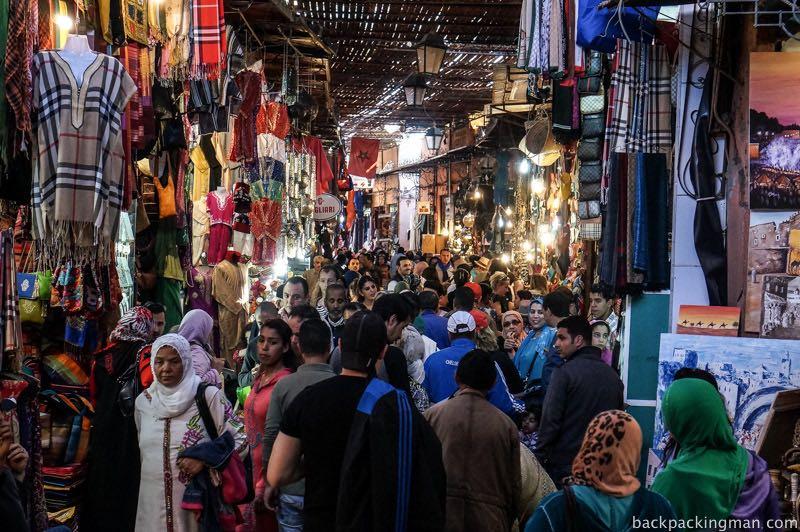 Marrakech souqs (markets)