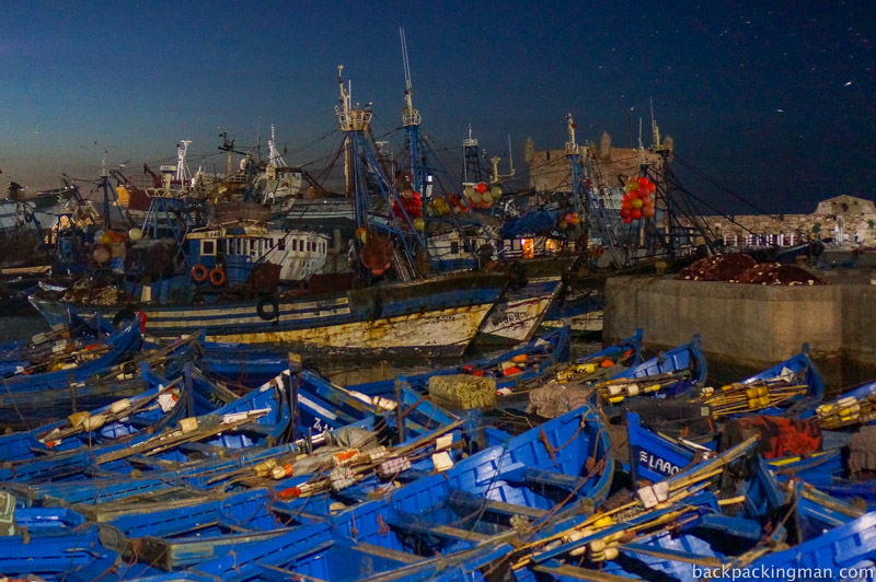 Fishing boats Essaouira