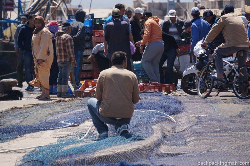 Fishing Essaouira.